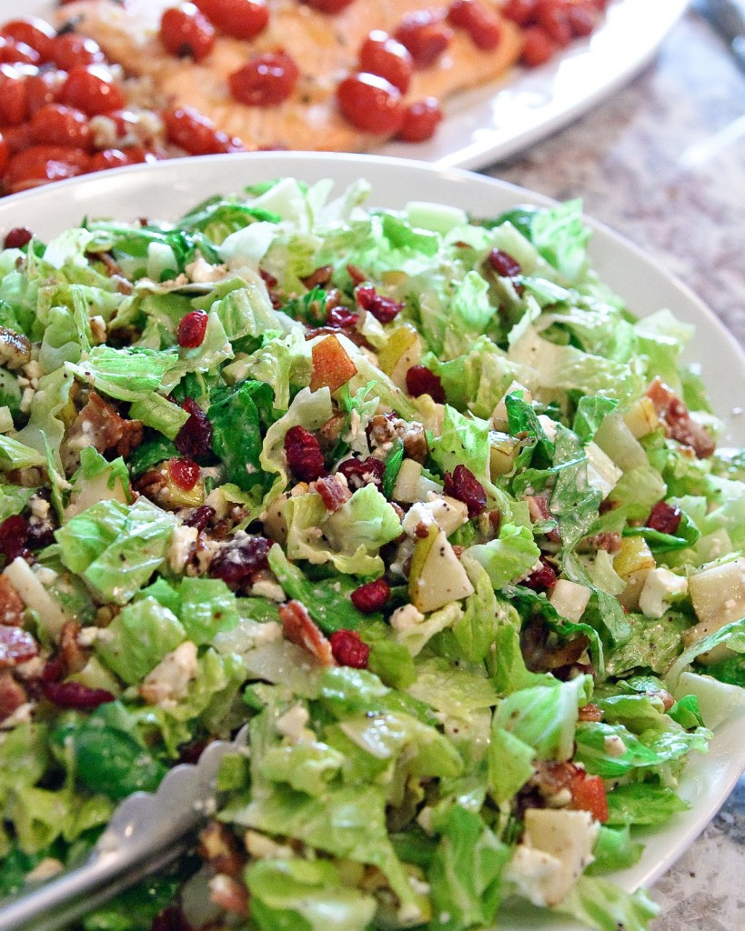 Fall Dinner Ideas : Autumn chopped salad + 4 other delicious recipes in this week's Fall meal plan | Rainbow Delicious