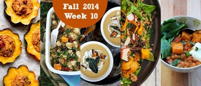 Meal Plan: Fall 2014 Week 10
