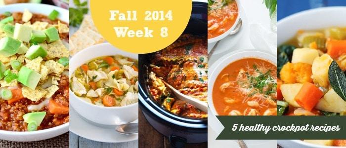 Meal Plan: Fall 2014 Week 8