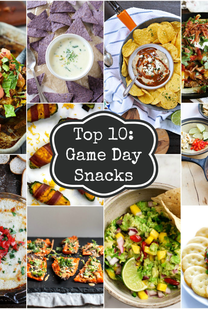 Top 10 Game Day Snacks