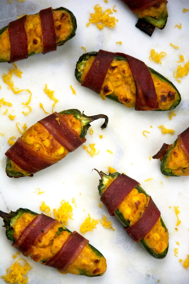 cheesy corn stuffed jalapenos + 9 other delicious and unique game day snacks perfect for the Super Bowl