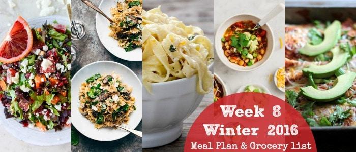 Healthy Winter Dinner Recipes: Winter 2016 Week 8