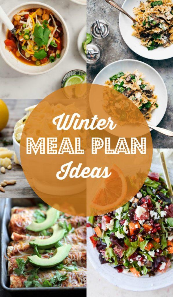 Winter Meal Plan Ideas