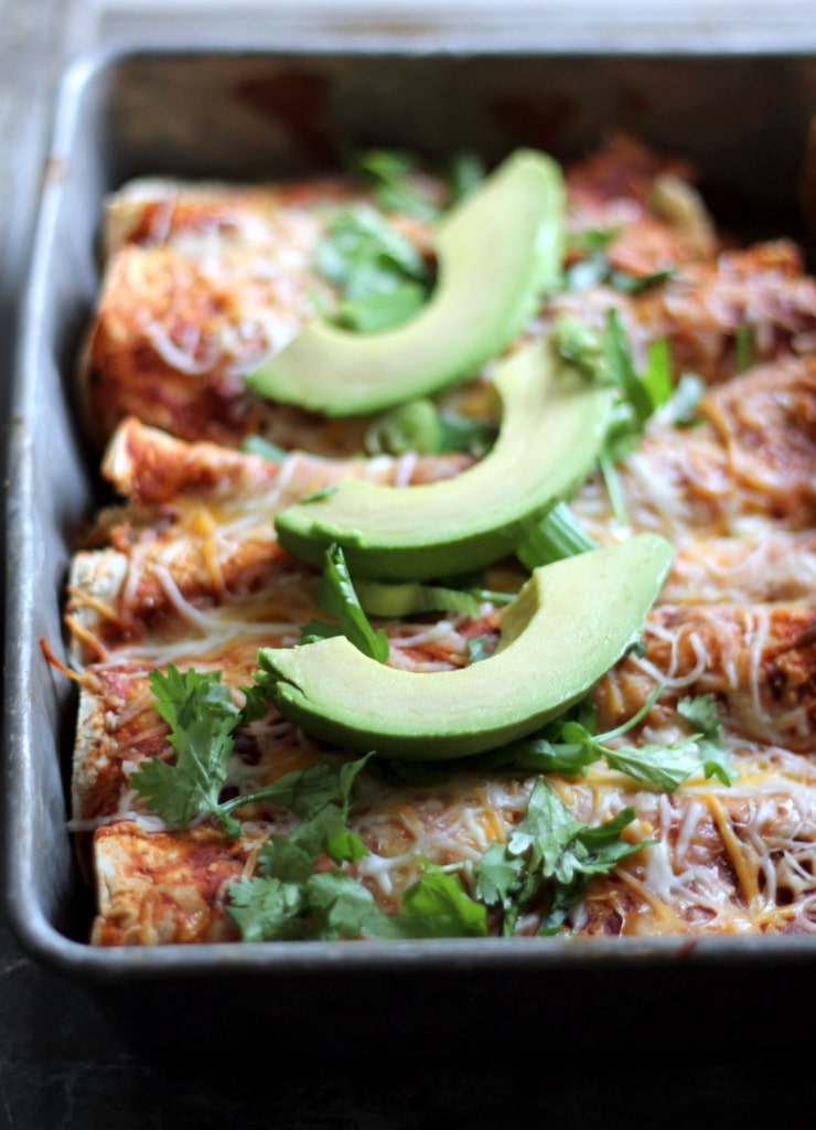 butternut squash and black bean enchiladas + 4 other delicious recipes ...