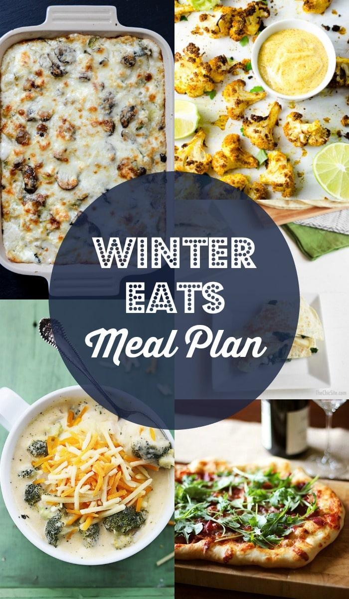 Winter Eats Meal Plan