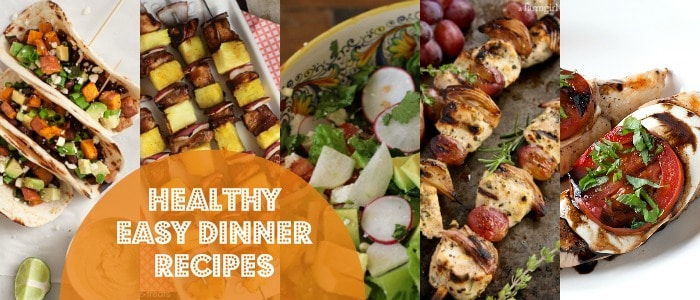 Heathy Easy Dinner Recipes Rainbow Delicious