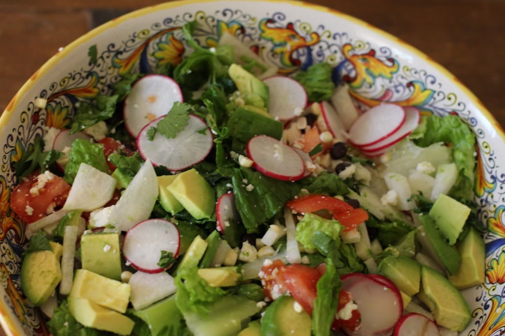 Healthy Easy Dinner Recipes: Avocado Salad