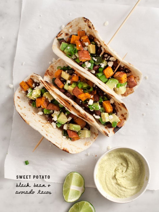 Healthy Easy Dinner Recipes: Sweet Potato Tacos