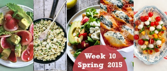 Meal Plan: Spring 2015 Week 10 {Happy Memorial Day!}