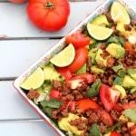 whole 30 taco salad