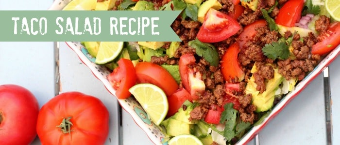 Taco Salad Whole30 Compatible