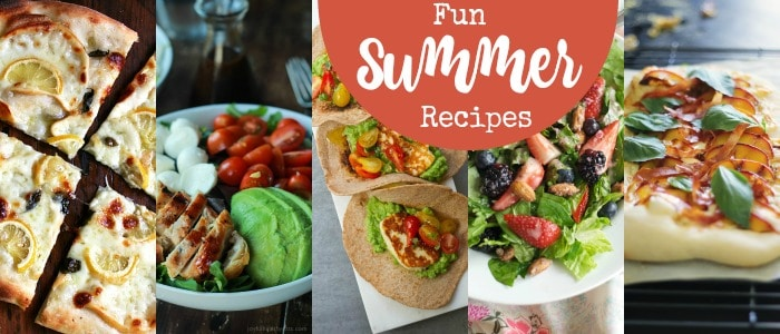 Fun Summer Recipes Rainbow Delicious