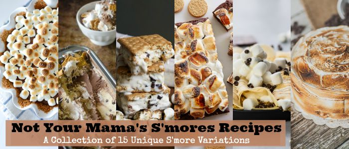 s'mores recipes : Not Your Mama's S'mores Recipes