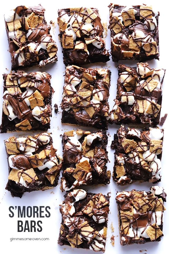 s'mores recipes : Smores Bars