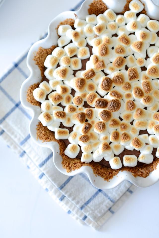 smore pudding pie recipe