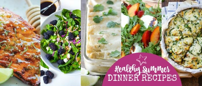 Healthy Summer Dinner Recipes