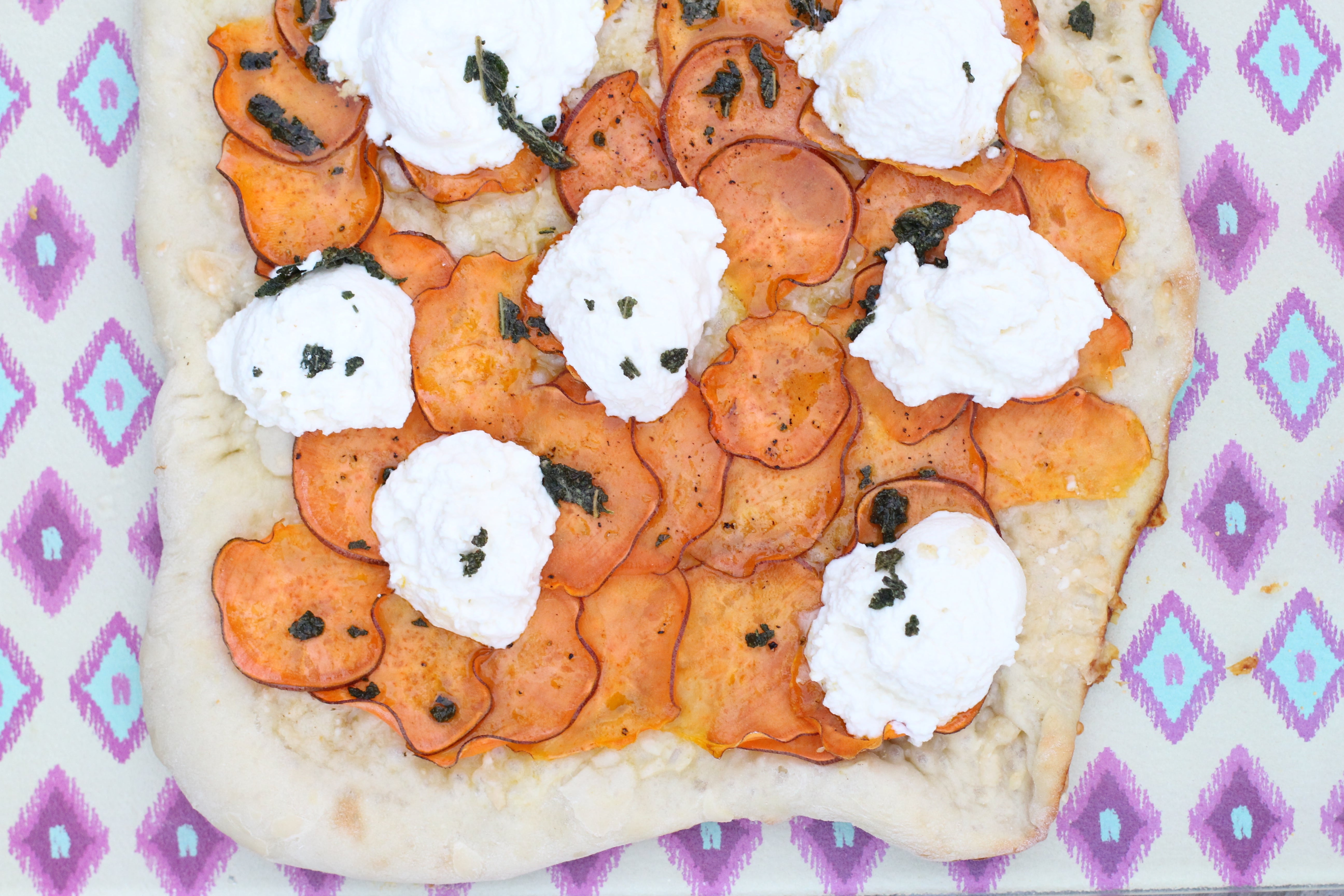 Sweet Potato, Ricotta, Brown Butter and Sage Pizza: adapted from Feast ...