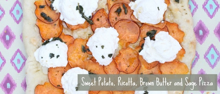 Sweet Potato, Ricotta, Brown Butter and Sage Pizza