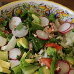 blak bean radish and jicama salad