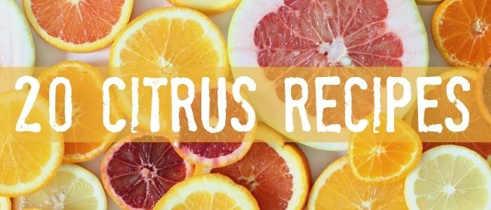 20 Citrus Recipes