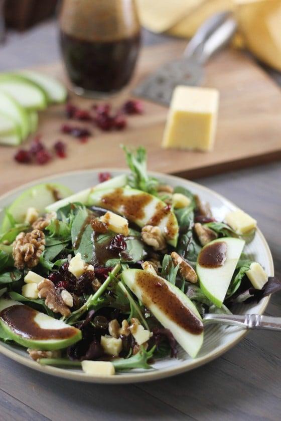 Cheddar Apple Winter Salad