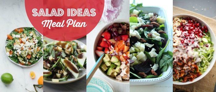 Salad Ideas Meal Plan