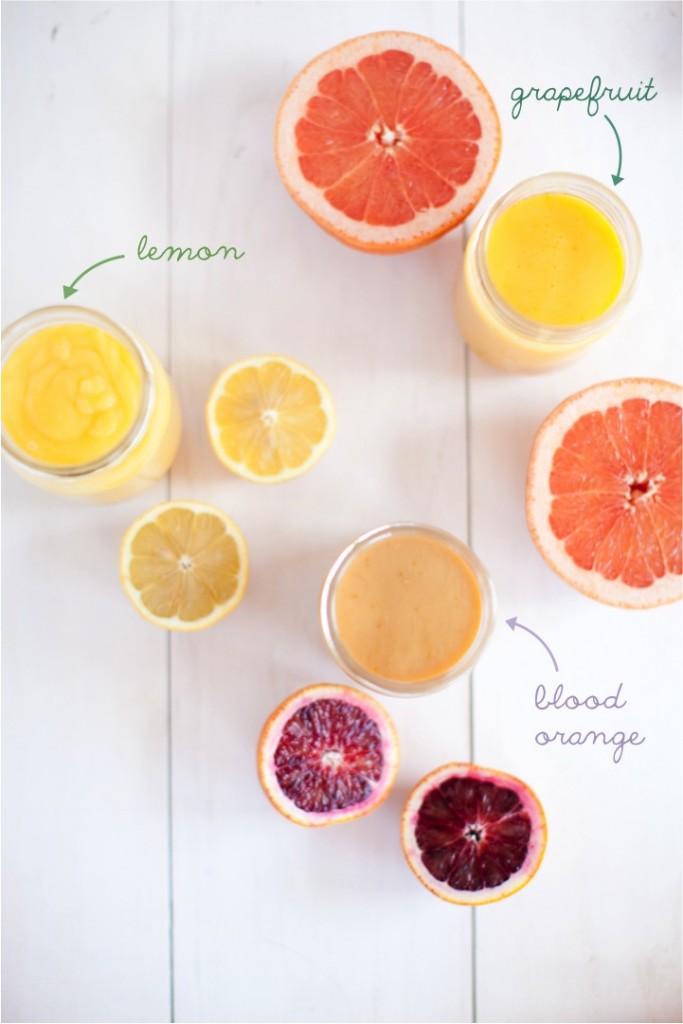 Three Citrus Curds | 20 Amazing Citrus Recipes on Rainbow Delicious