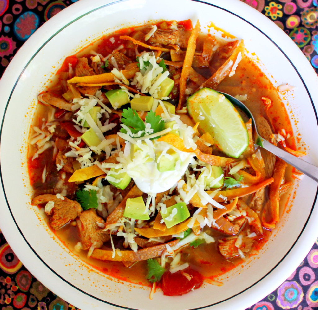 Chicken Tortilla Soup 4 Other Healthy Dinner