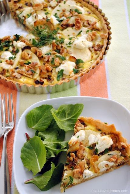 healthy-dinner-ideas-fennel-and-apple-tart-