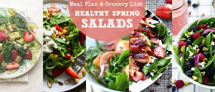 Meal Plan: A Week of Healthy Salad Recipes