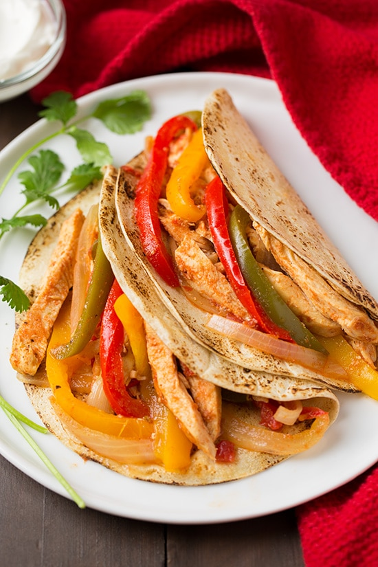 healthy-crockpot-recipes-chicken-fajitas