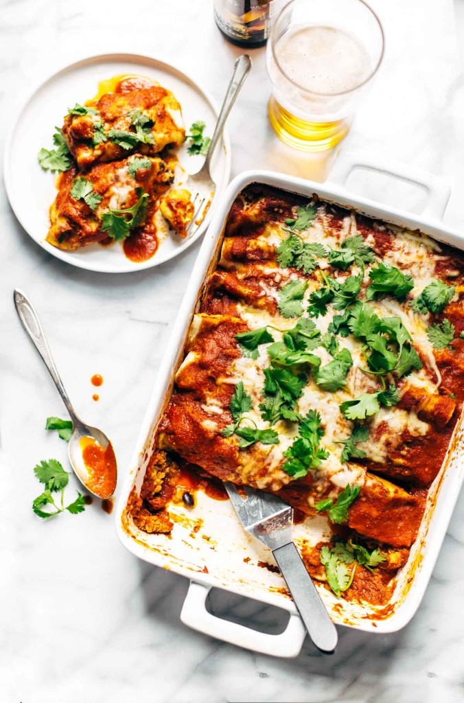 healthy-chicken-dinner-recipes-meal-plan-lazy-girl-chicken-quinoa-enchiladas