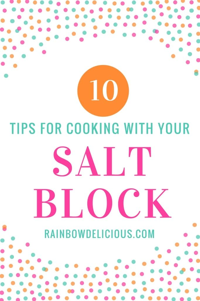 Top 10 tips for cooking with your salt block