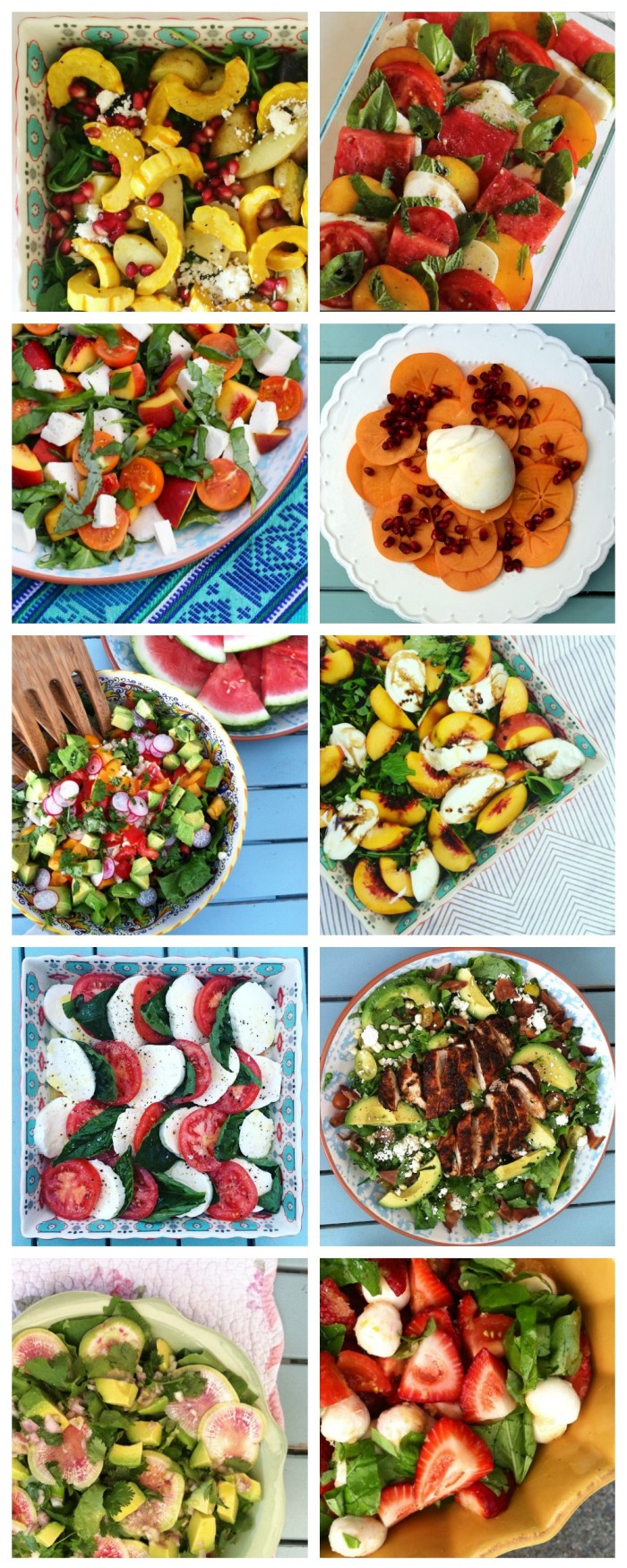 Top 10 Salad Recipes | Rainbow Delicious