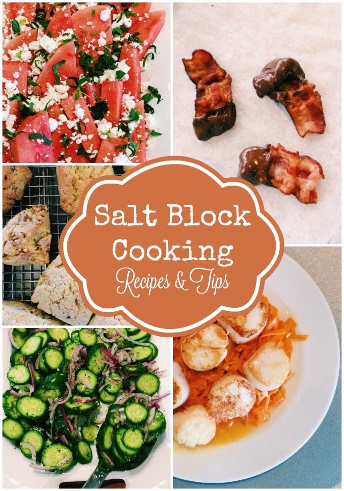 Salt Block Cooking Recipes and Tips