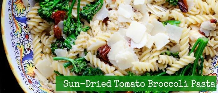 Sun Dried Tomato Broccoli Pasta Recipe