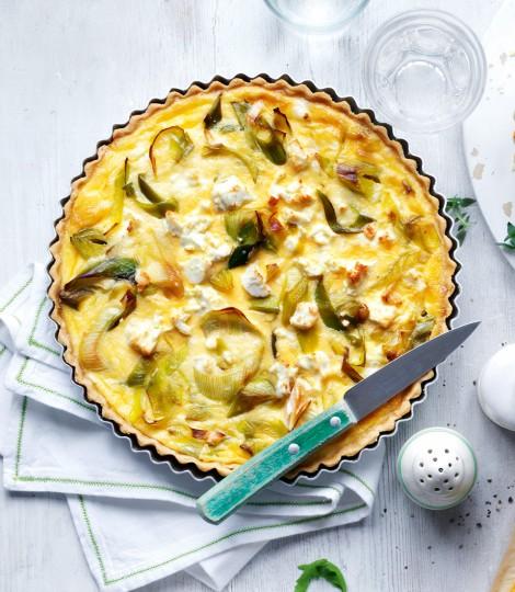 may-spring-dinner-recipes-leek-feta-tart