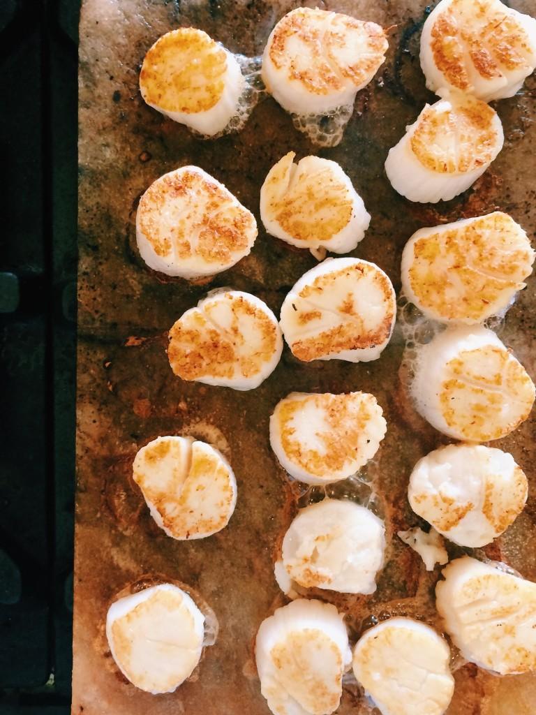 Salt Block Cooking Recipes Scallops