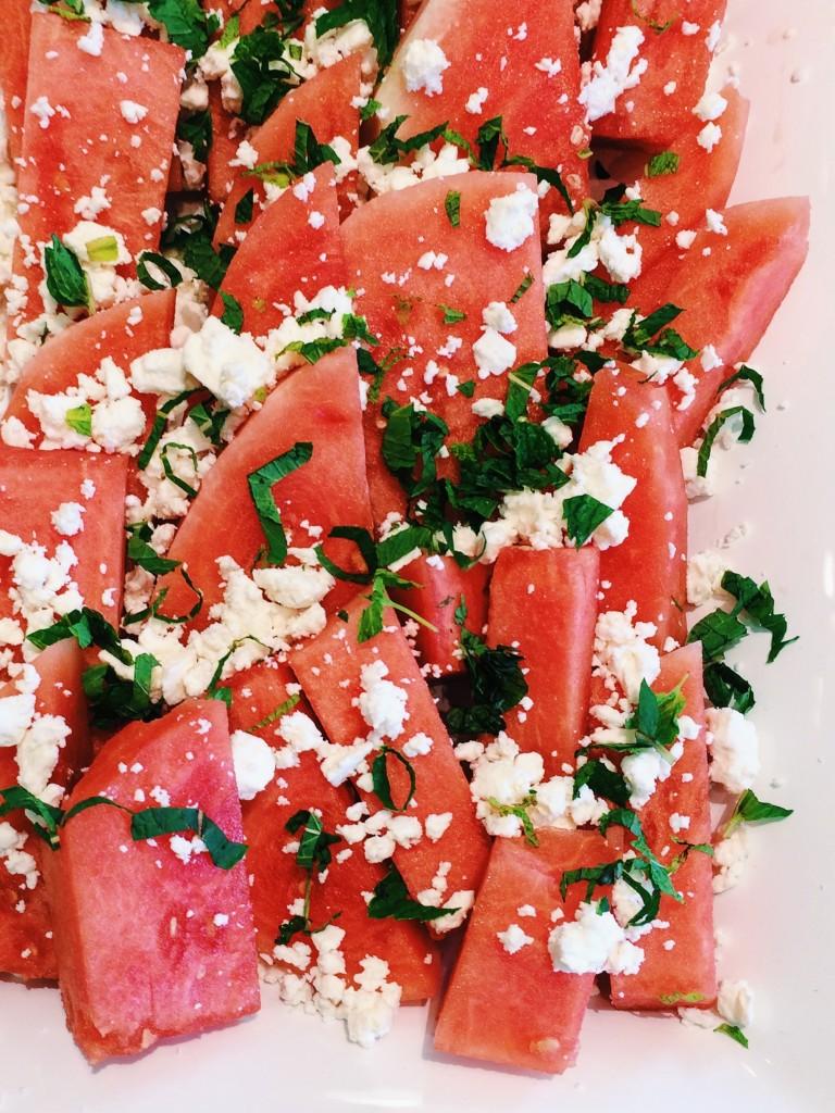 Salt Block Cooking Recipes Watermelon Feta Salad