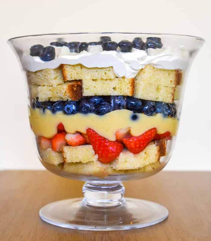 Blueberry Strawberry Shortcake - 4th of July Snacks