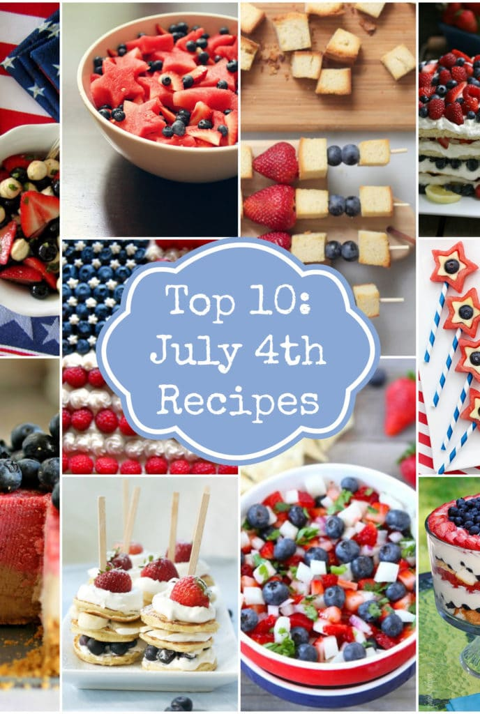 Fourth Of july Recipes on Rainbow Delicious