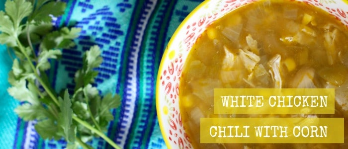 White Chicken Chili with Corn Recipe