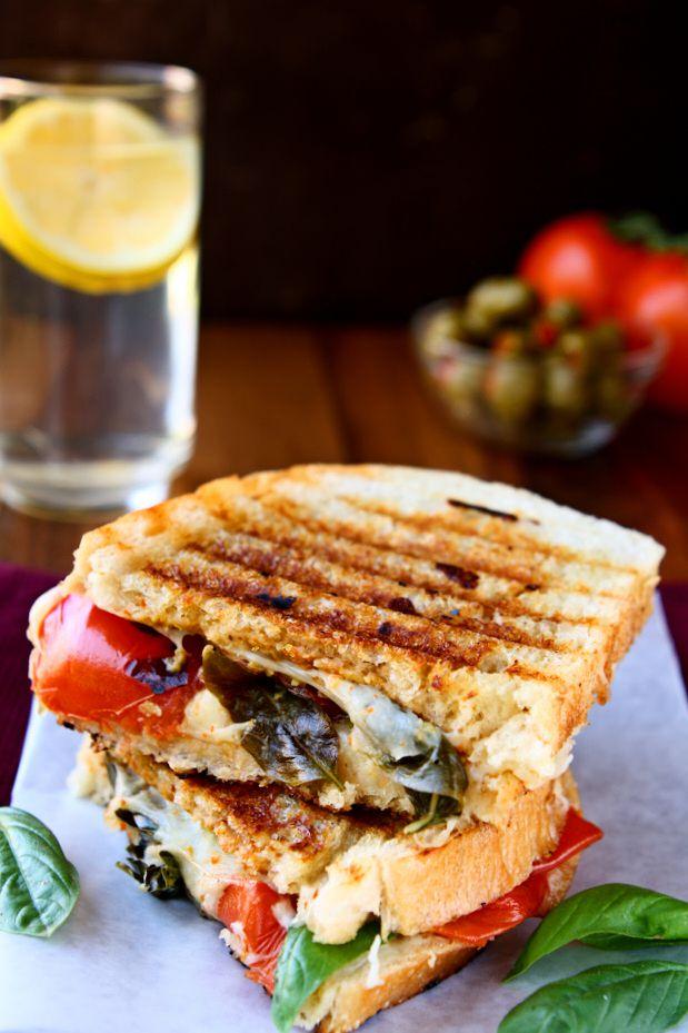 Caprese Panini Sandwich Unique Caprese Recipes