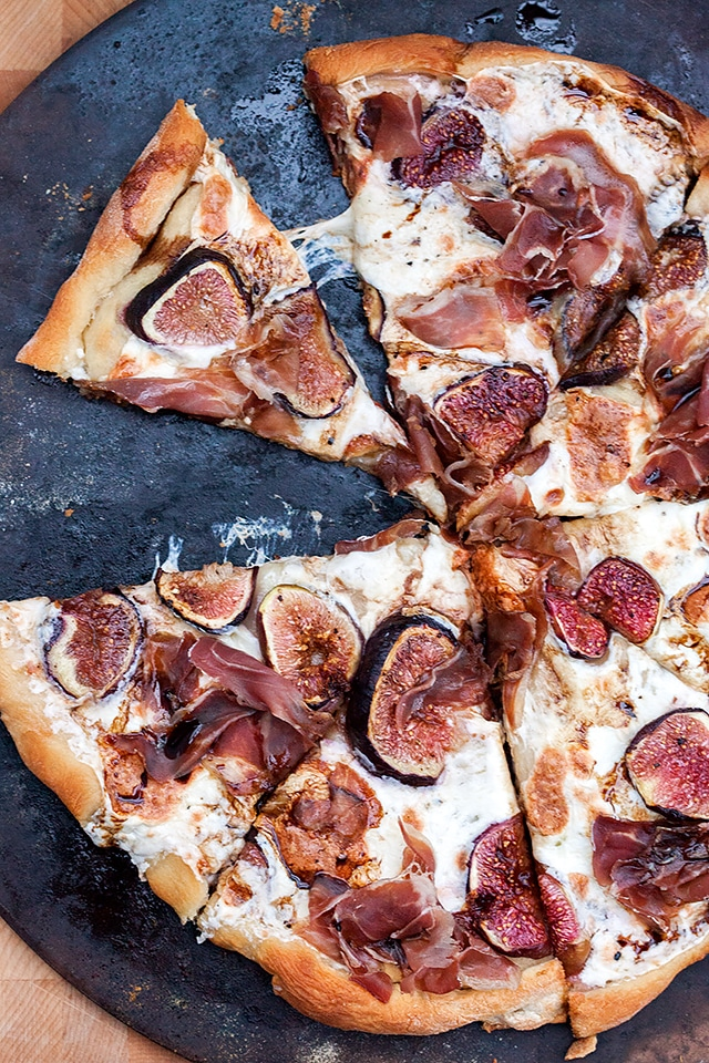 Fresh Summer Dinner Recipes | Fig and Prosciutto Pizza with Balsamic Drizzle
