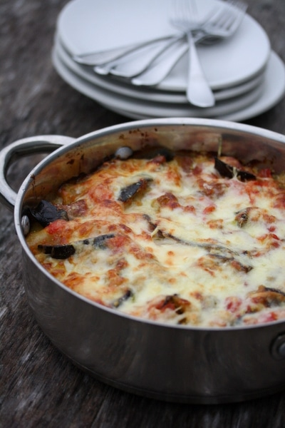Fresh Summer Dinner Recipes | Zucchini Eggplant Lasagna with Fontina