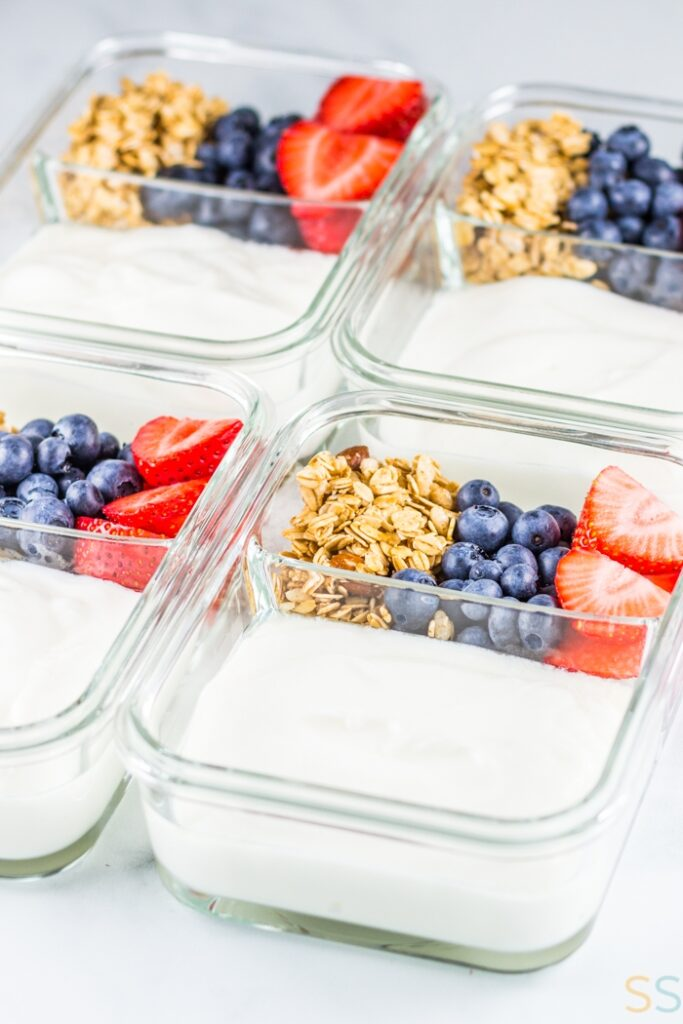 Parfait Breakfast Meal Prep - Parfait Ideas