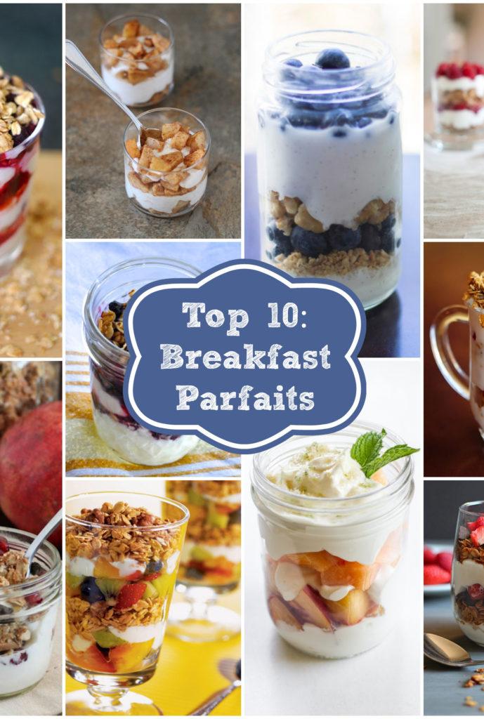 Top 10 Breakfast Parfaits