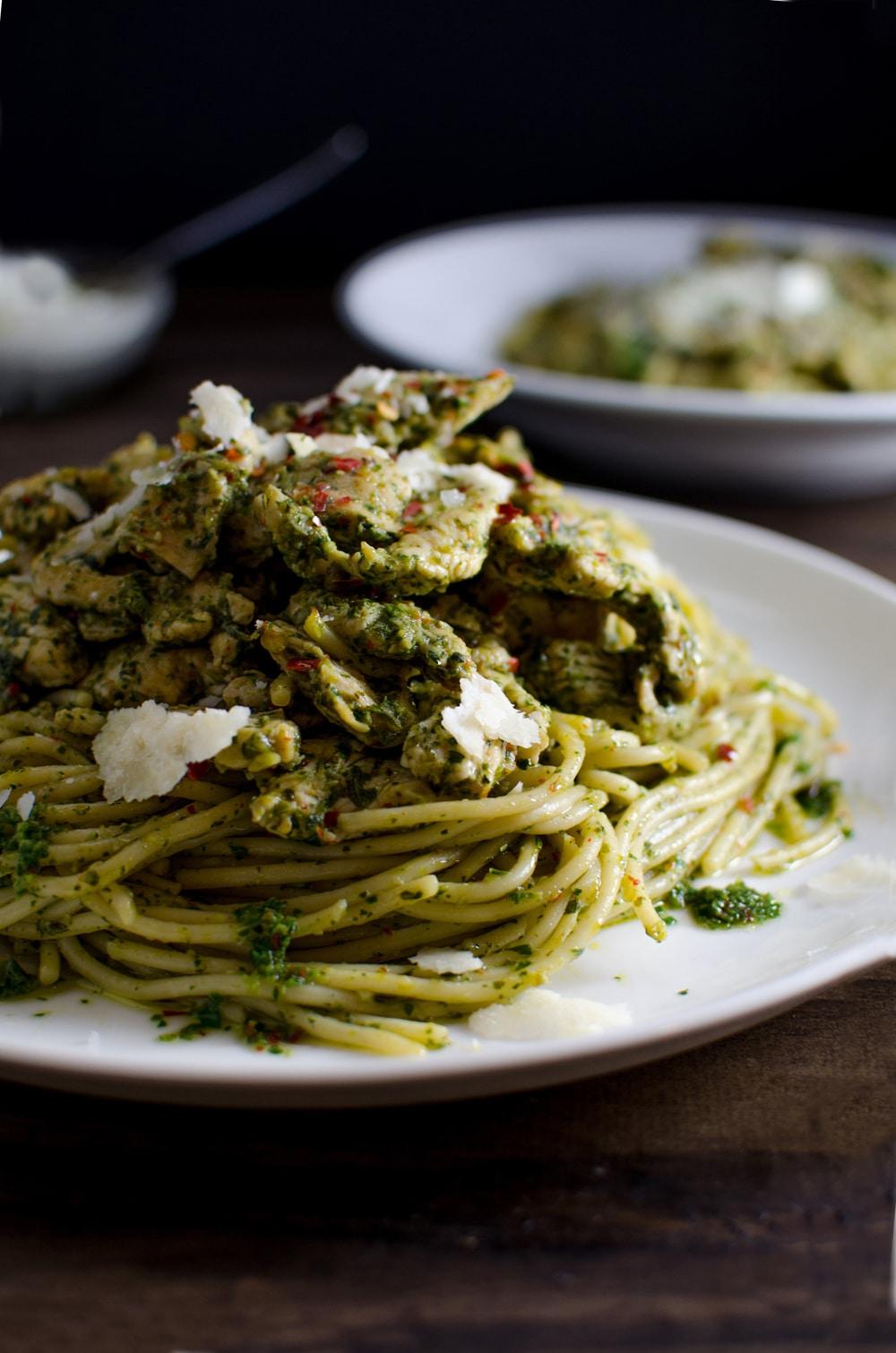 September Recipes Italian Chicken Pasta Stir Fry