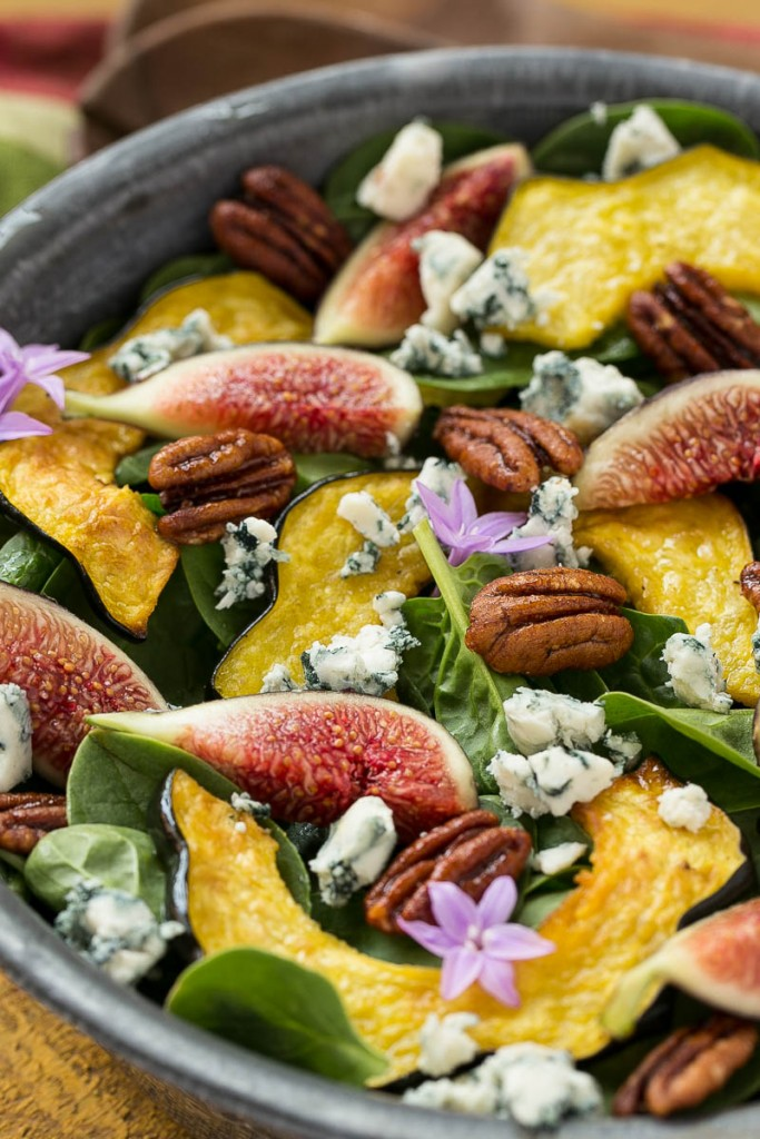 Amazing Salad Recipes Meal Plan with Dinner at the Zoo Fig Spinach Salad