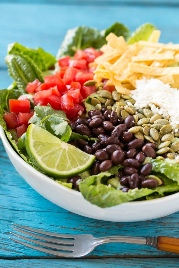 Amazing Salad Recipes Meal Plan with Dinner at the Zoo Mexican Caesar Salad